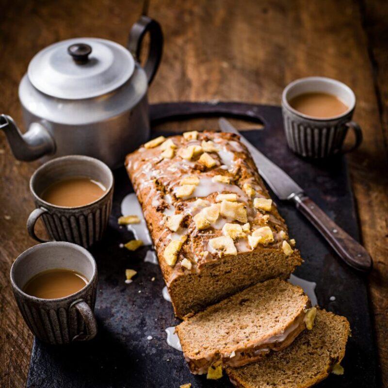 Rețetă ușoară de pâine cu banane Vegan