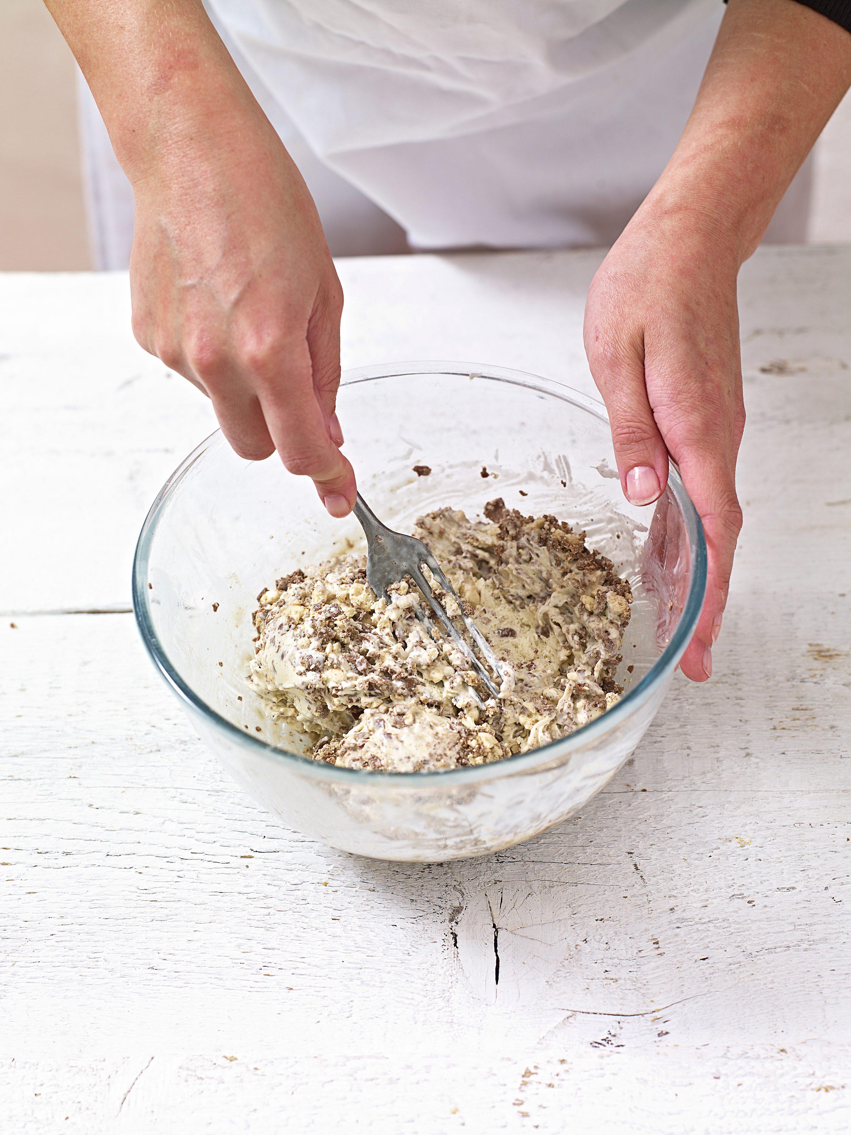 Adăugarea de maltere zdrobite și lapte praf malțit la înghețată