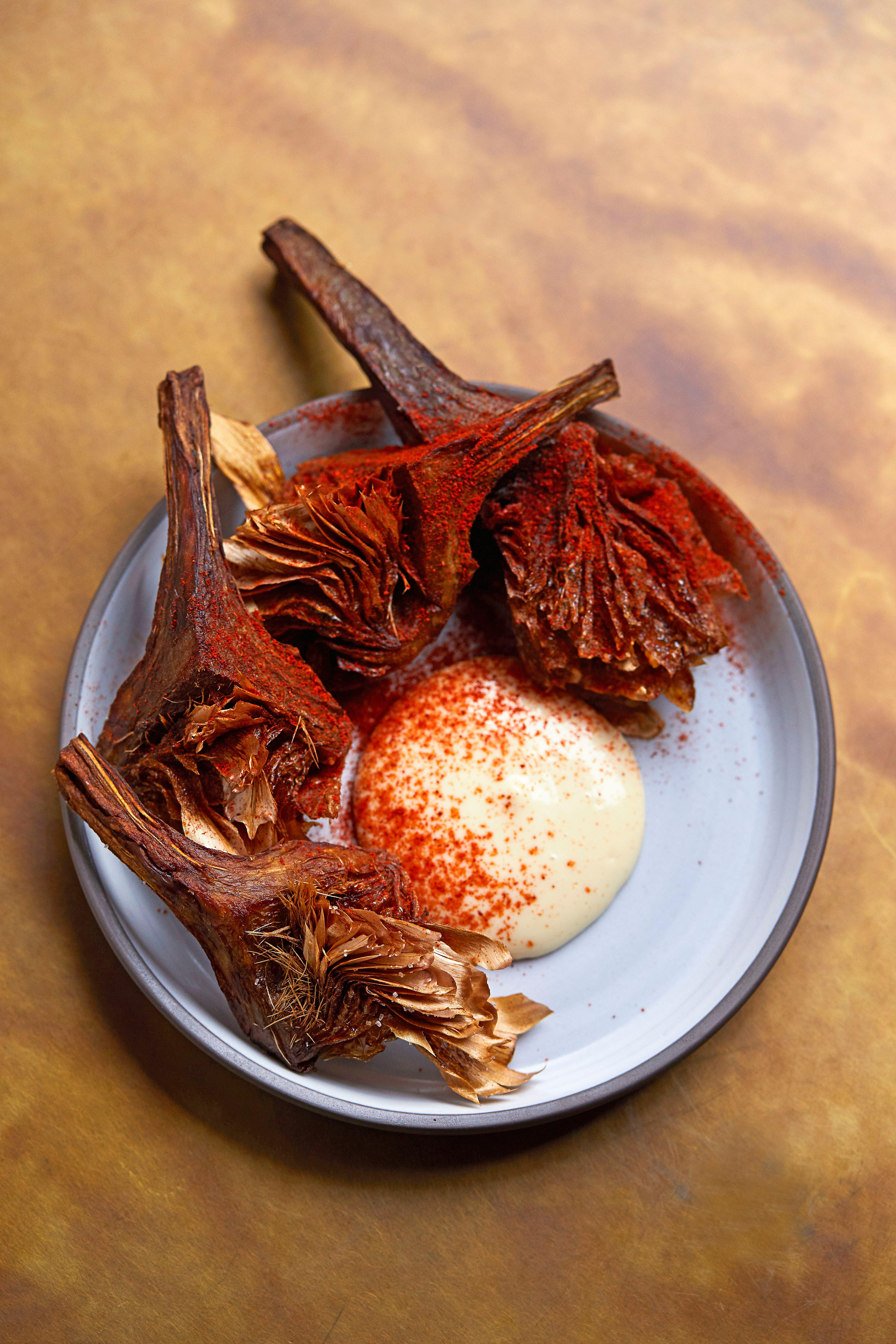 Rețetă de anghinare prăjită cu maioneză Miso