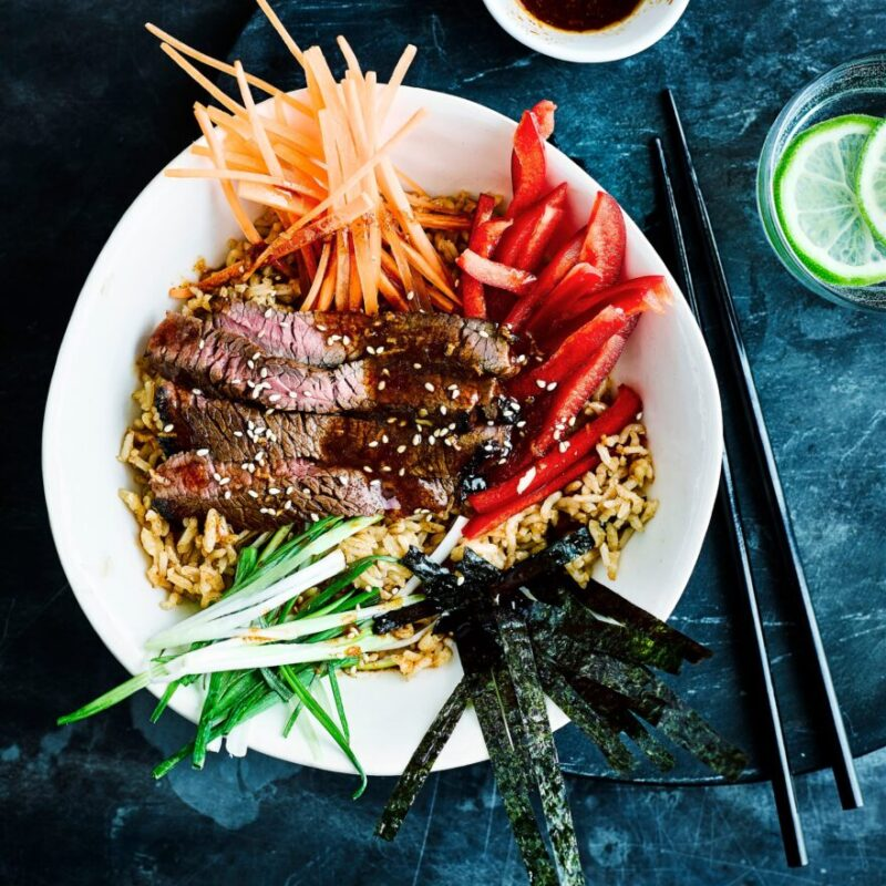 Rețetă coreeană cu bol Bulgogi de vită