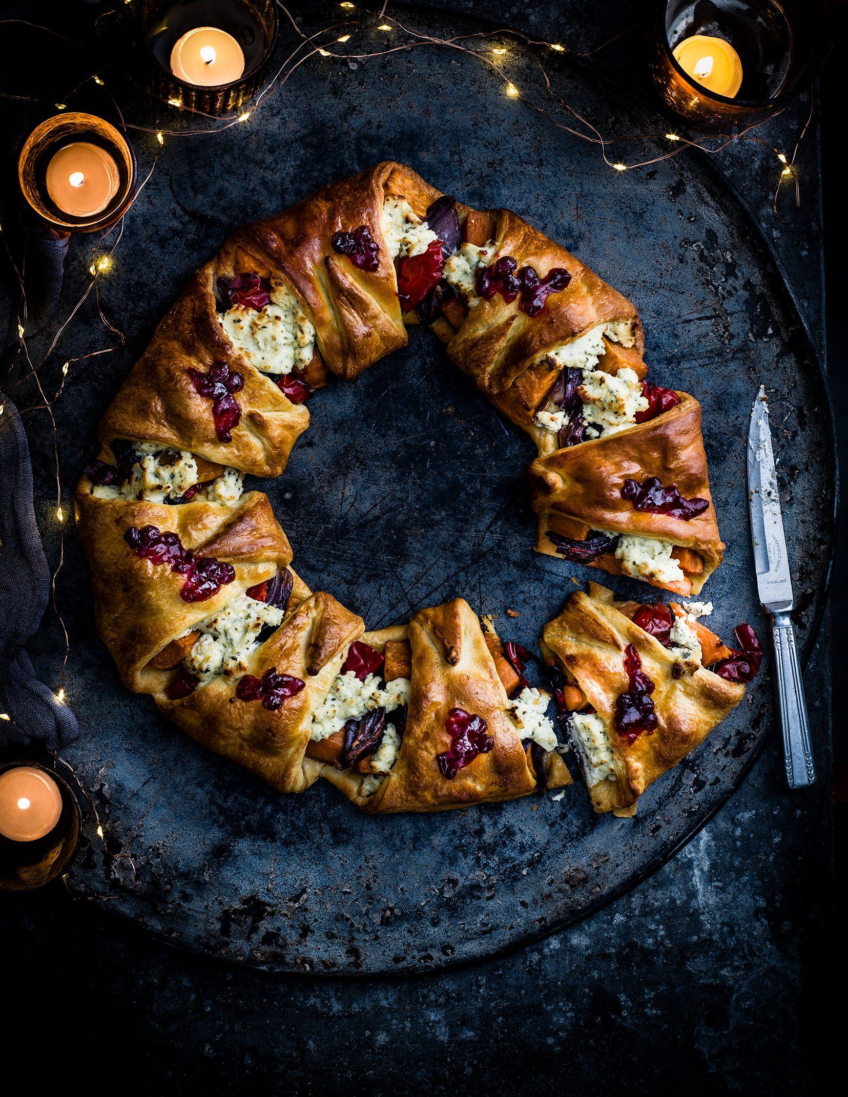 Rețetă de coroană de croissant cu Boursin