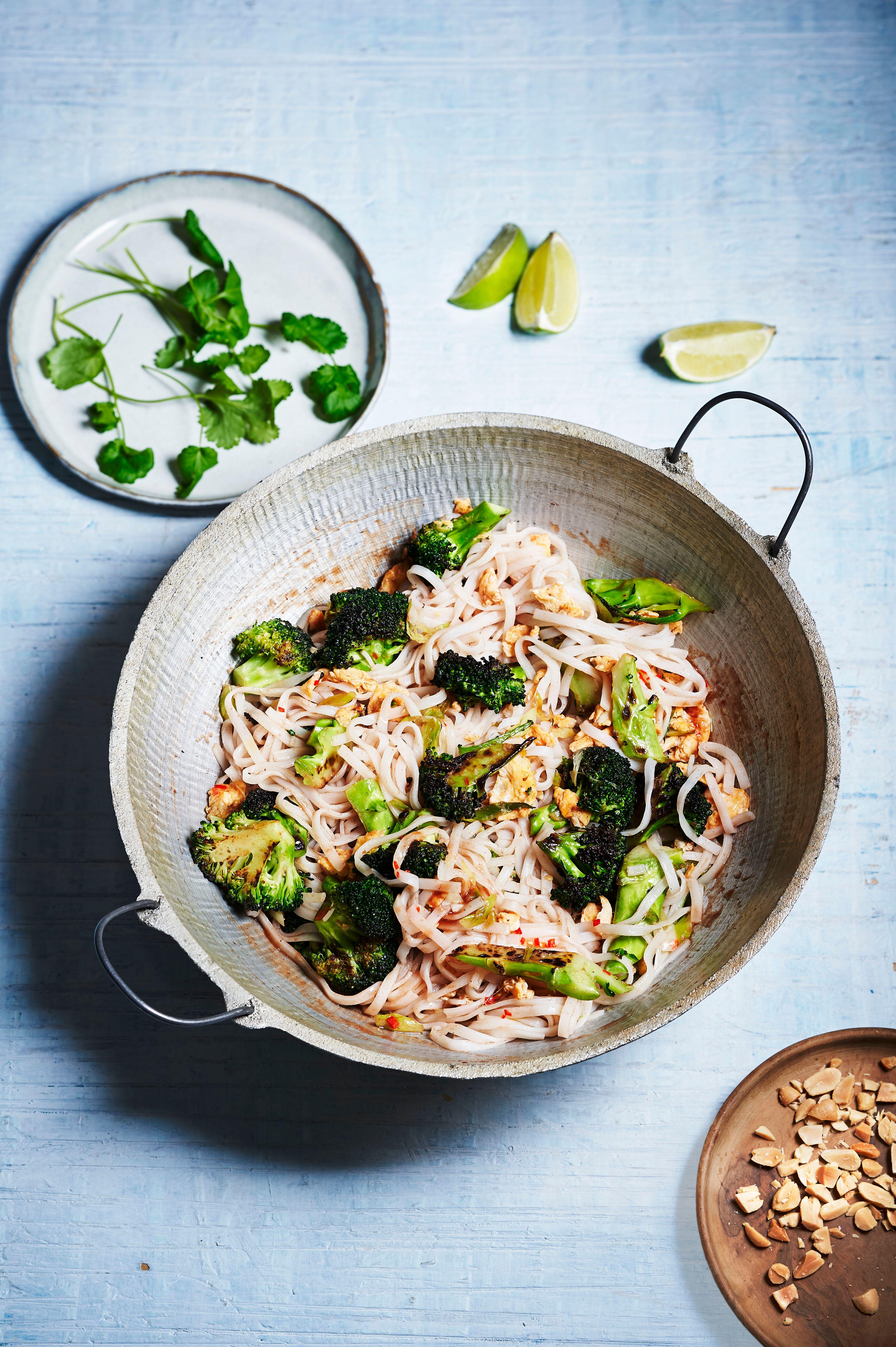 Reteta Pad Thai cu Broccoli
