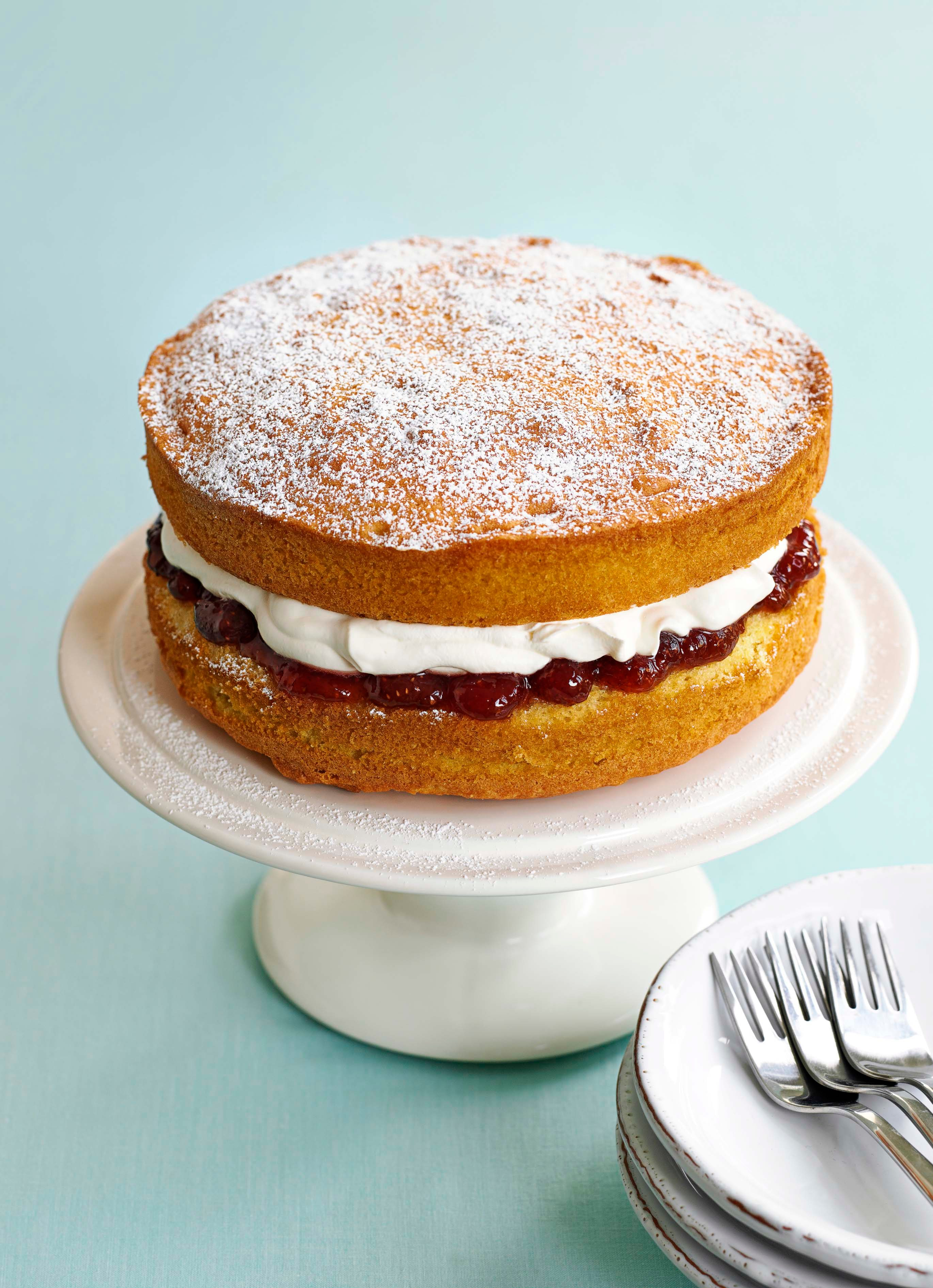 Rețetă Victoria Sponge Cake