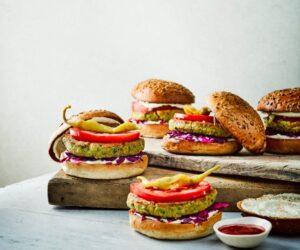 Rețetă de Burgeri Falafel condimentată