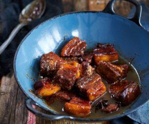 Rețetă de burtă de porc chinezească gătită de două ori
