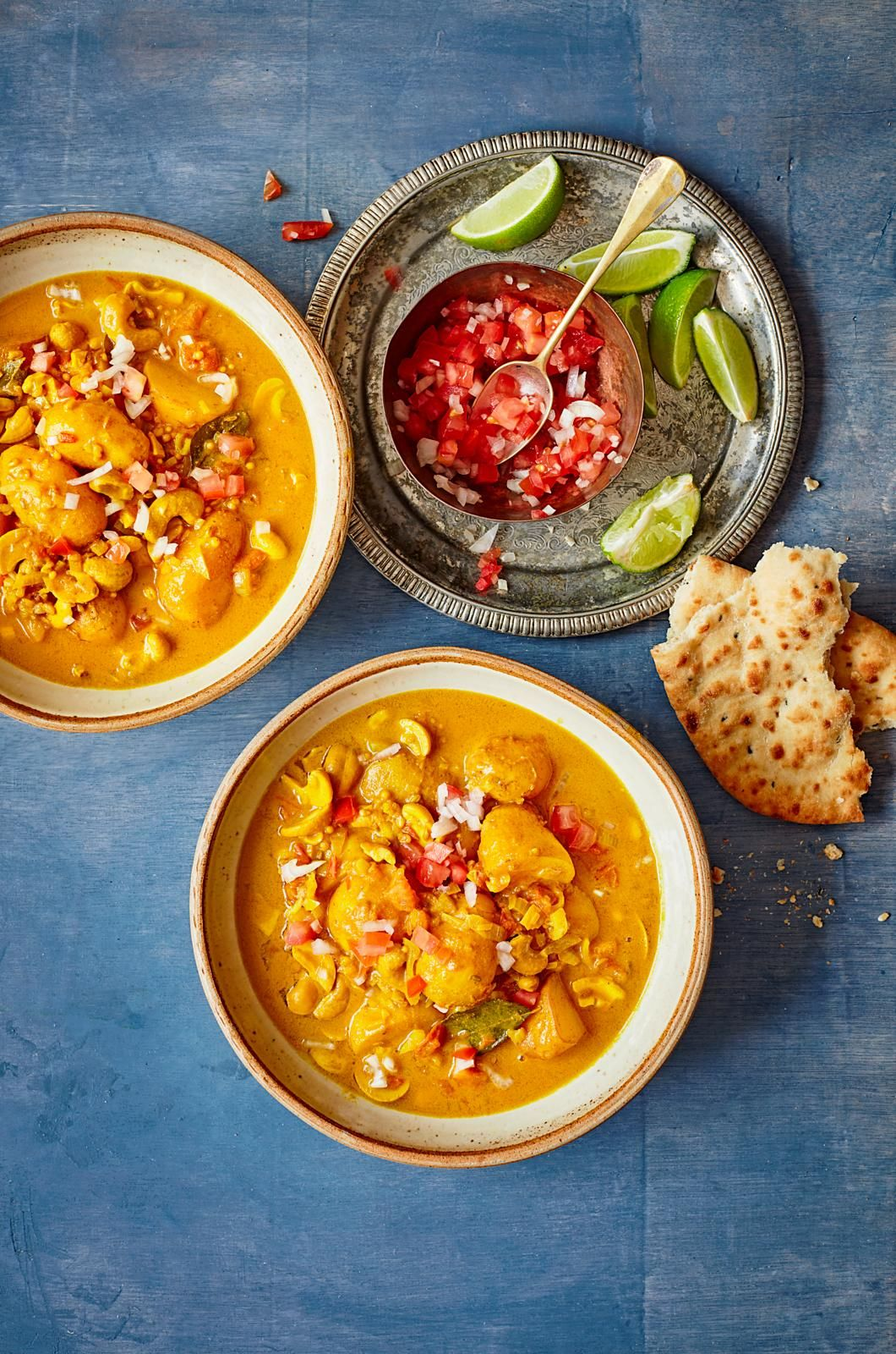 Caju din Sri Lanka și curry de cartofi