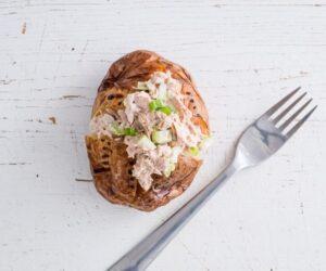 Cartof copt cu ton