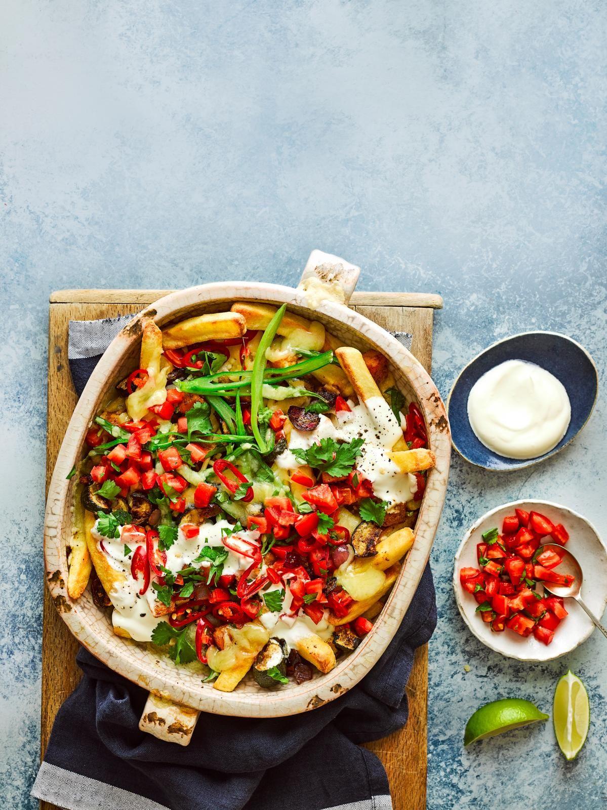 Cartofi prăjiți cu legume
