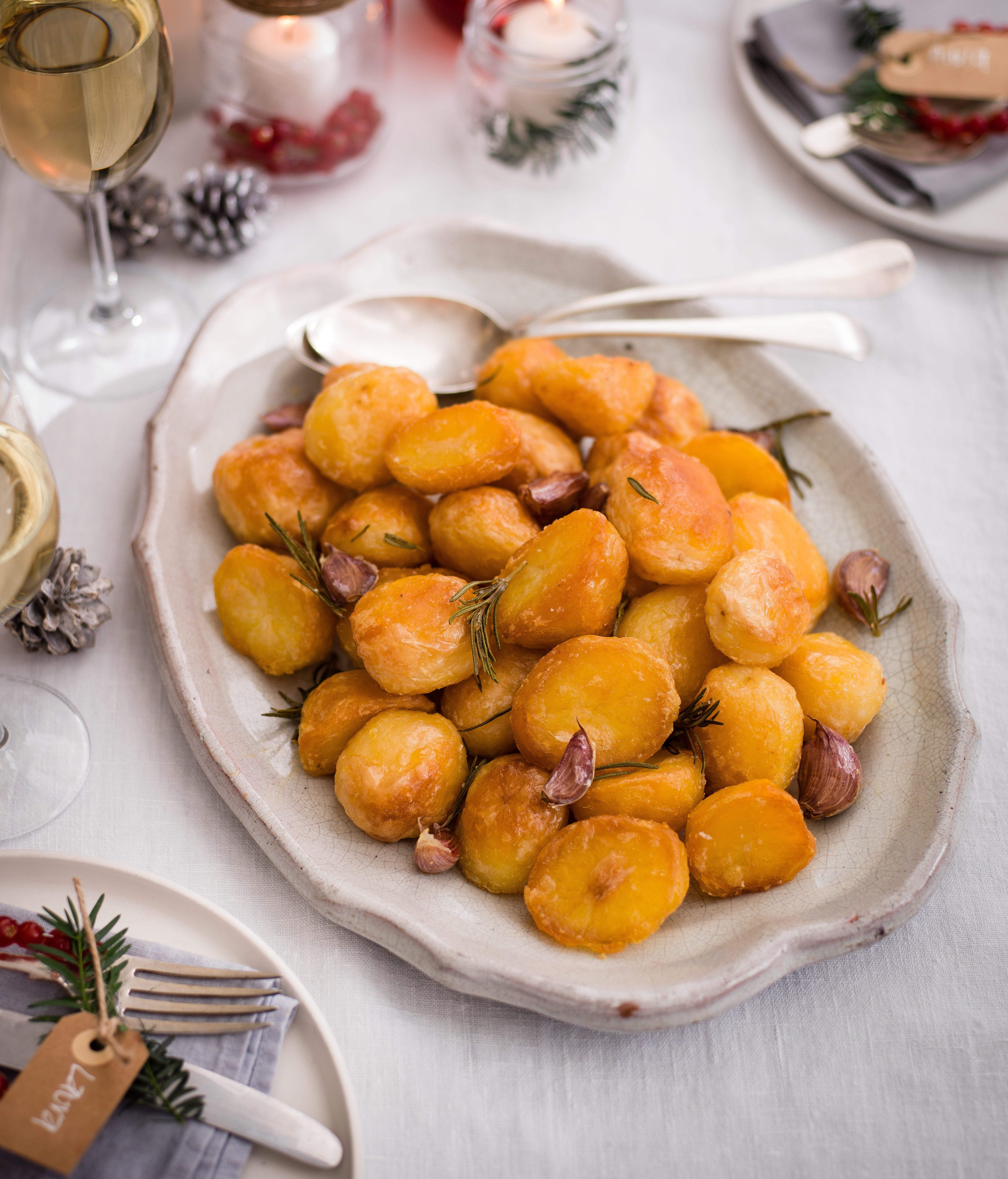 Fripturi de usturoi și rozmarin