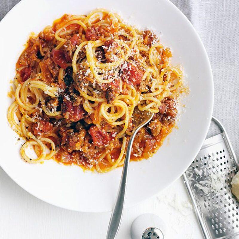 Cea mai bună rețetă de spaghete bologneze