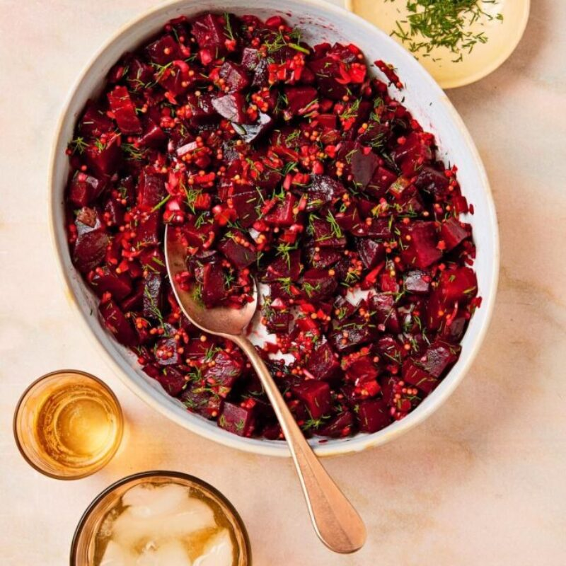 Chutney rapid pentru sfeclă roșie