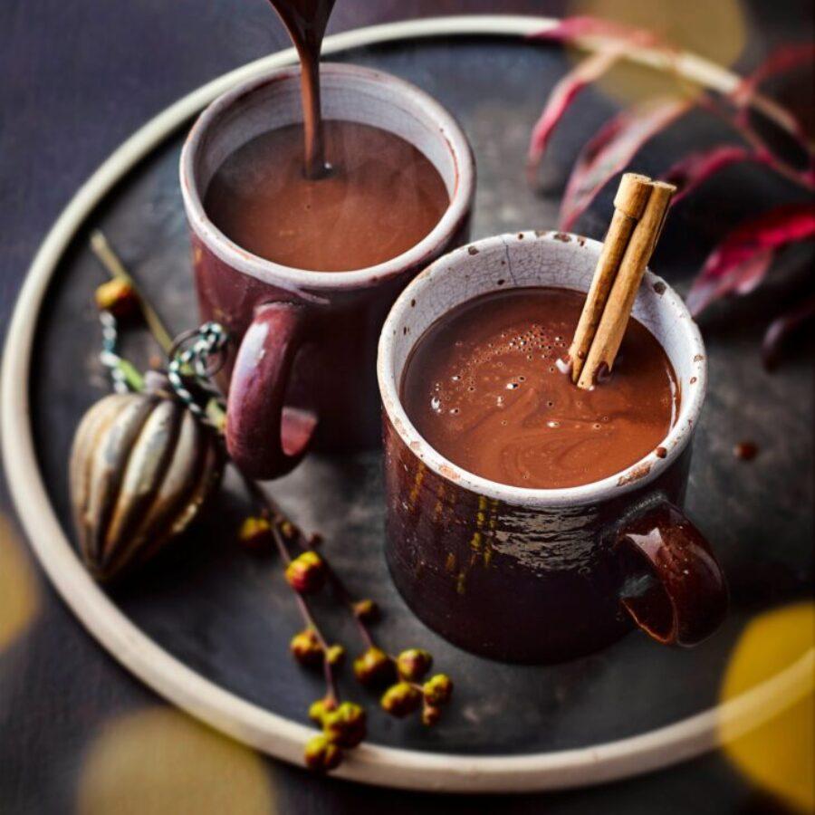 Rețetă de ciocolată fierbinte cu vin roșu
