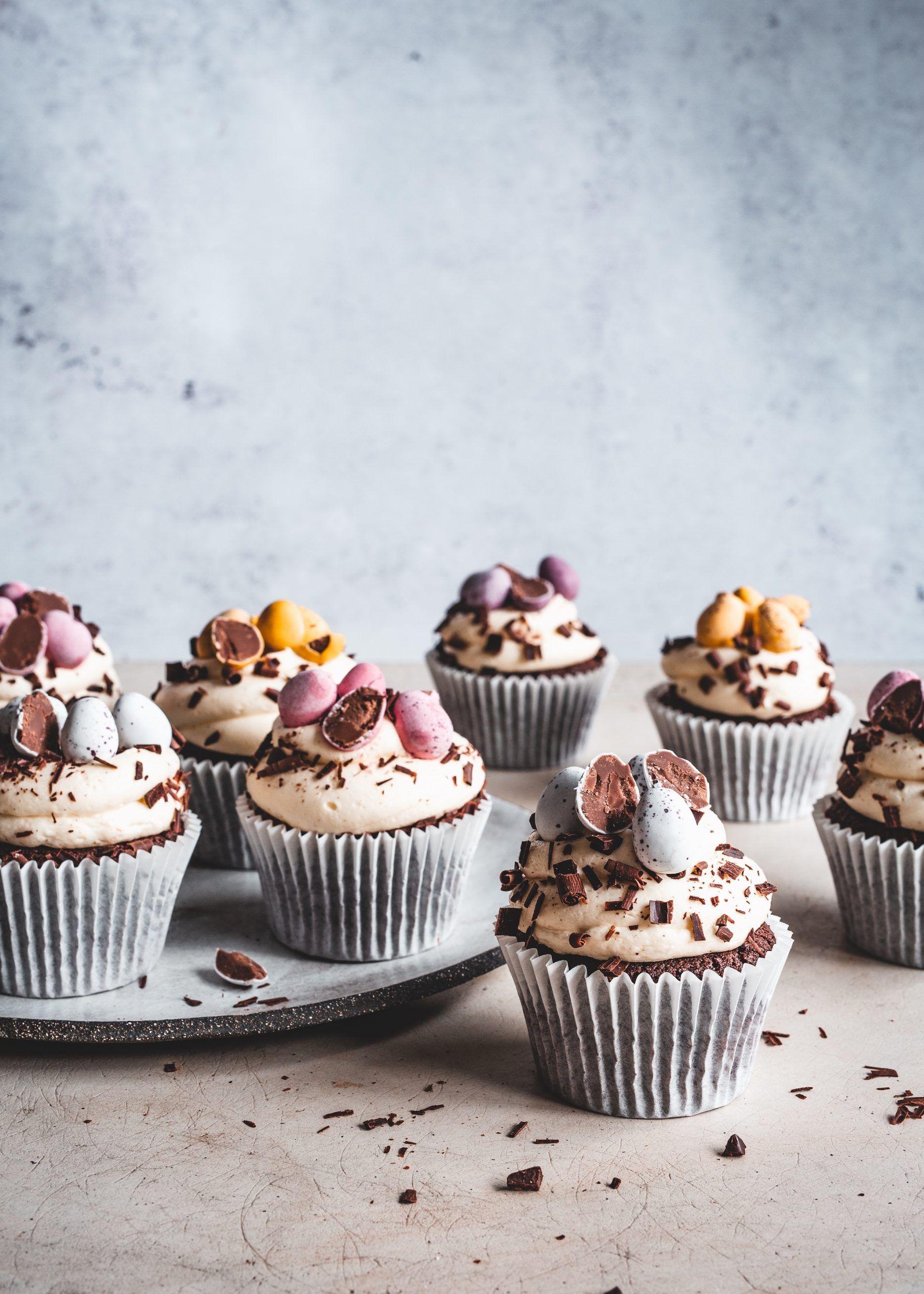 Rețetă Cupcakes de Paște