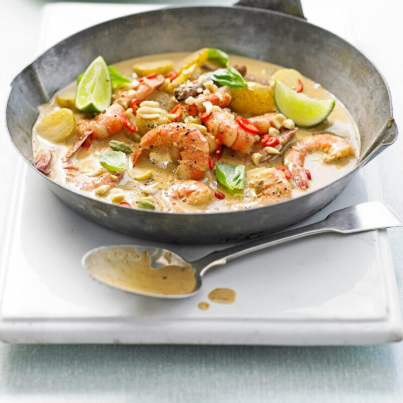 Rețetă Thai Curry Massaman Crevet