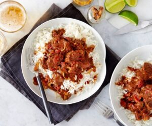 Curry caraibian cu miel