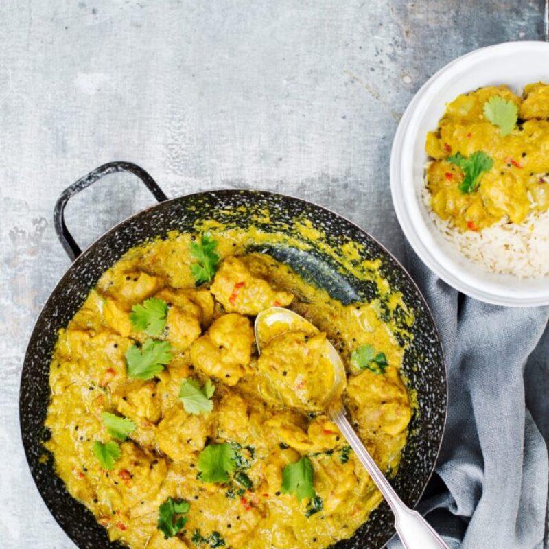 Curry de pui și caju
