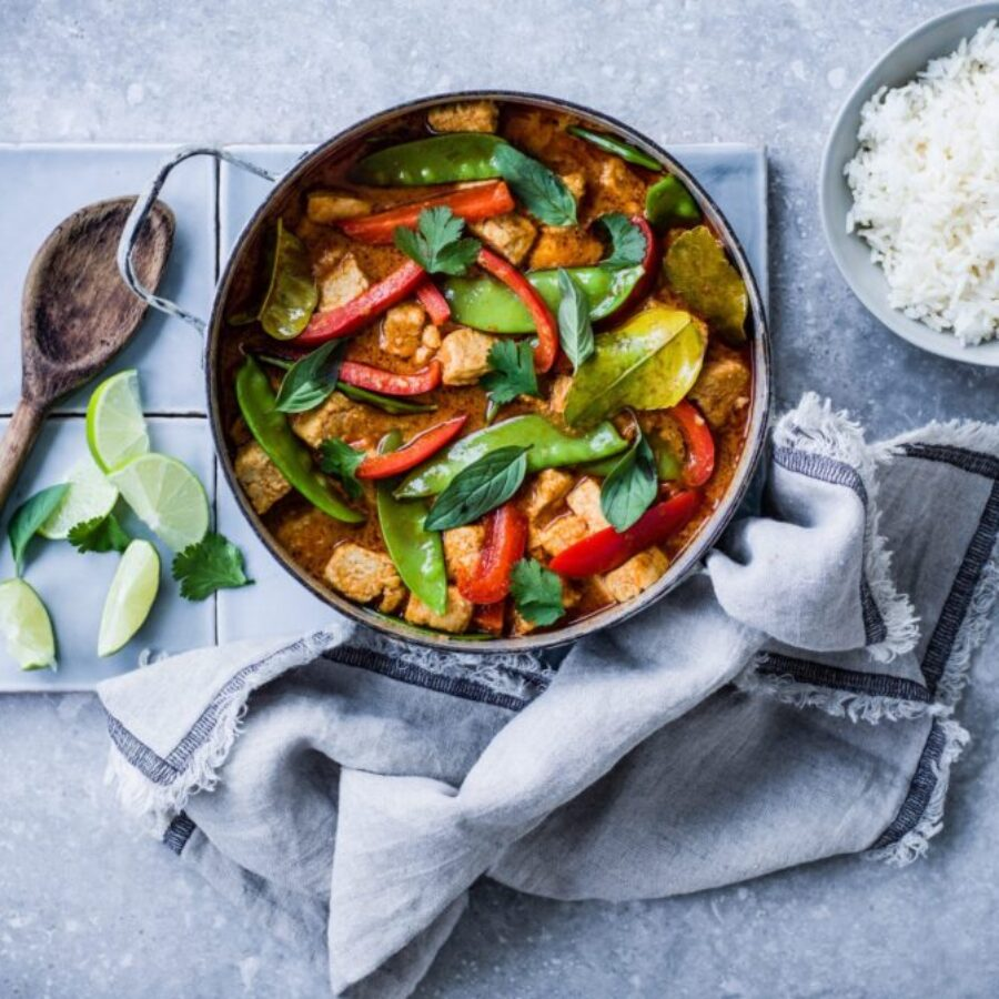 Rețetă Vegan Thai Curry Roșu