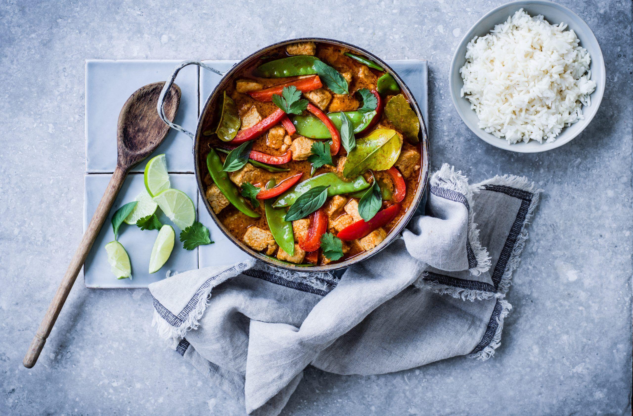 Rețetă Vegan Thai Curry Roșu