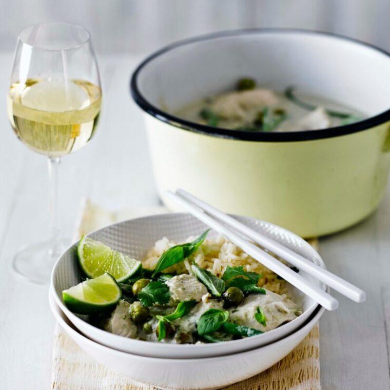 Rețetă Thai Curry Green Chicken Curry