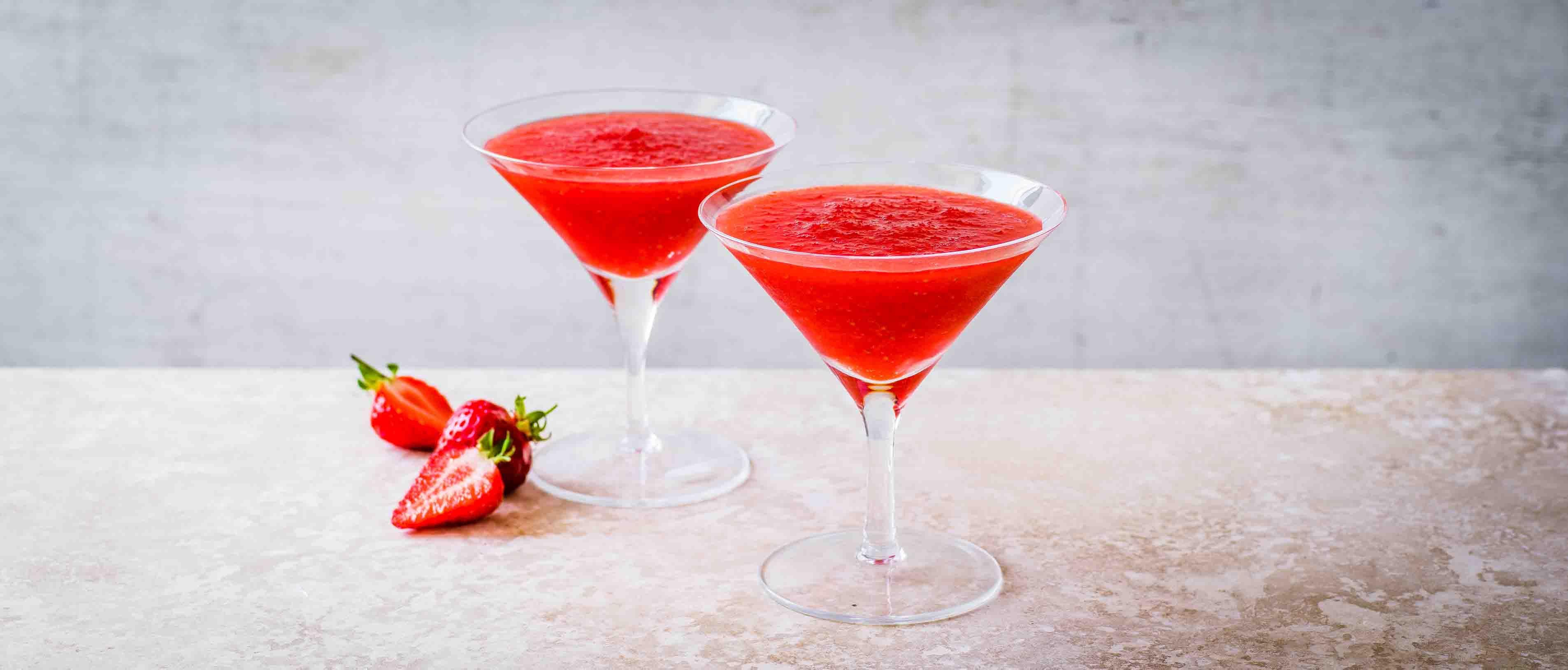 Rețetă congelată Daiquiri cu căpșuni