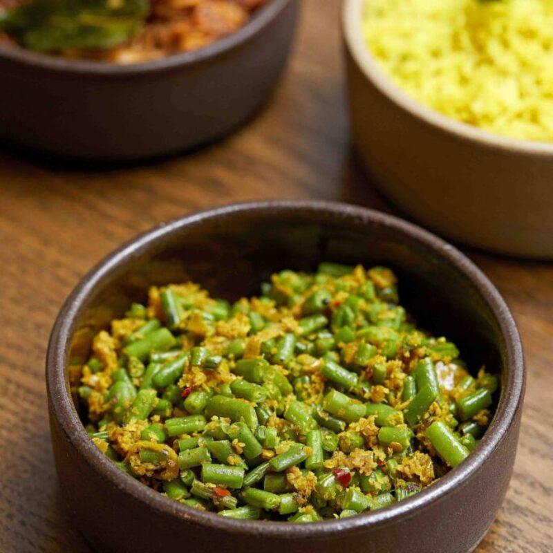 Rețetă de fasole verde din Sri Lanka Restaurant Kolamba