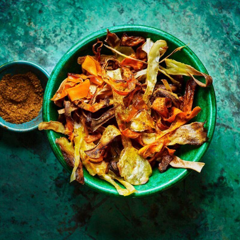 Rețetă de chipsuri de legume de casă