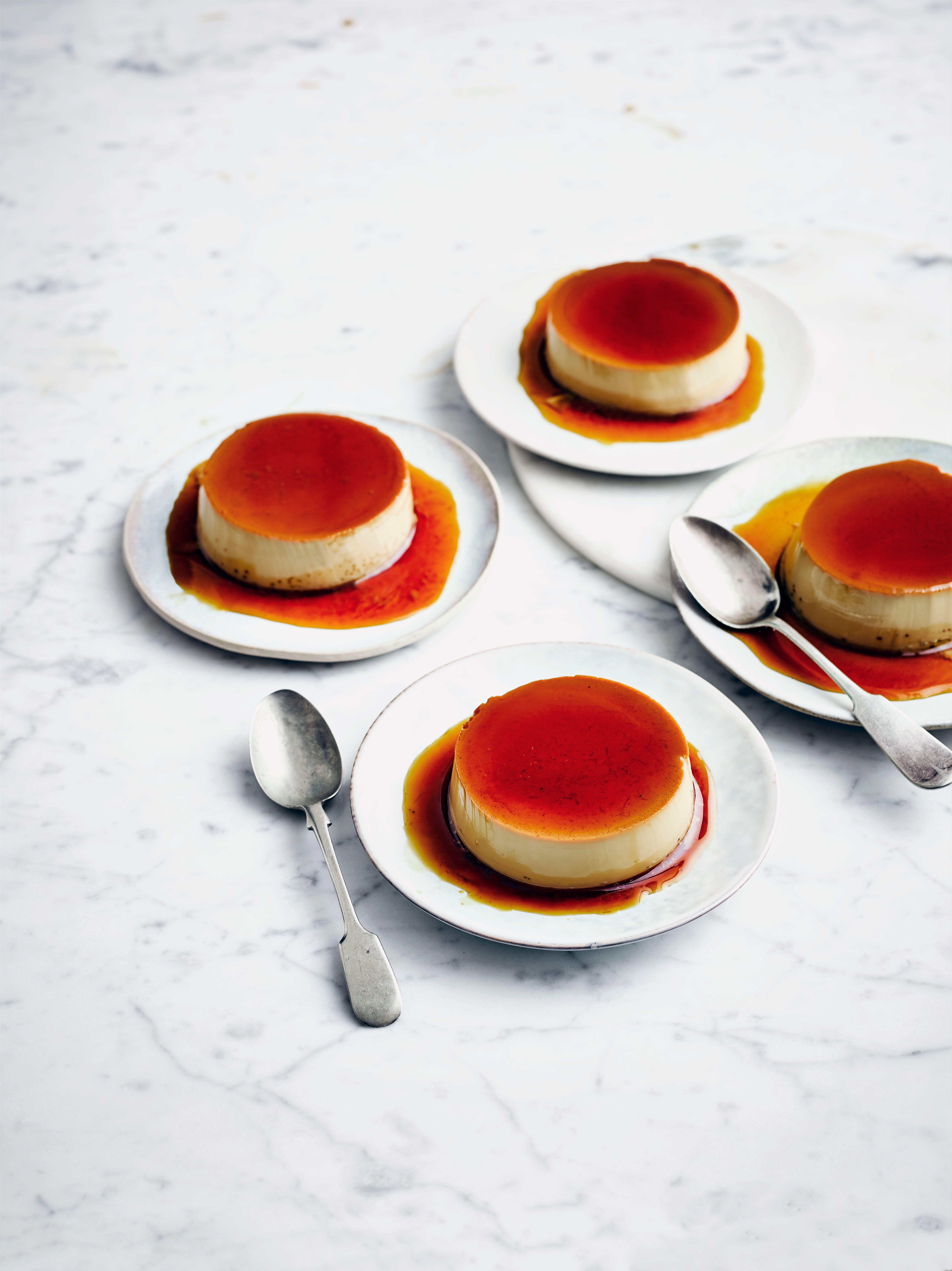 Crème Caramel cu Kahlúa