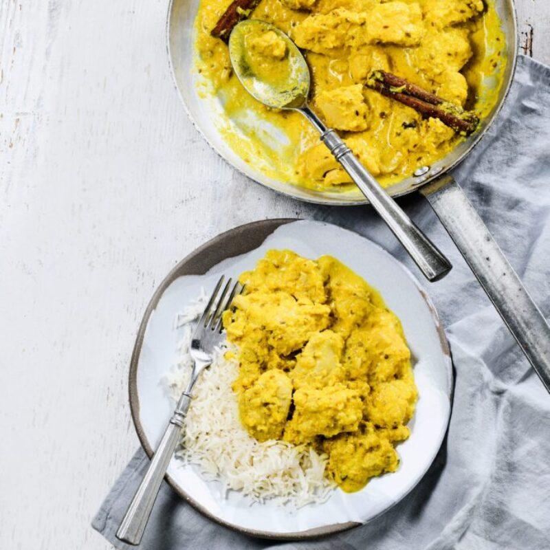 Rețetă de pui Korma Curry
