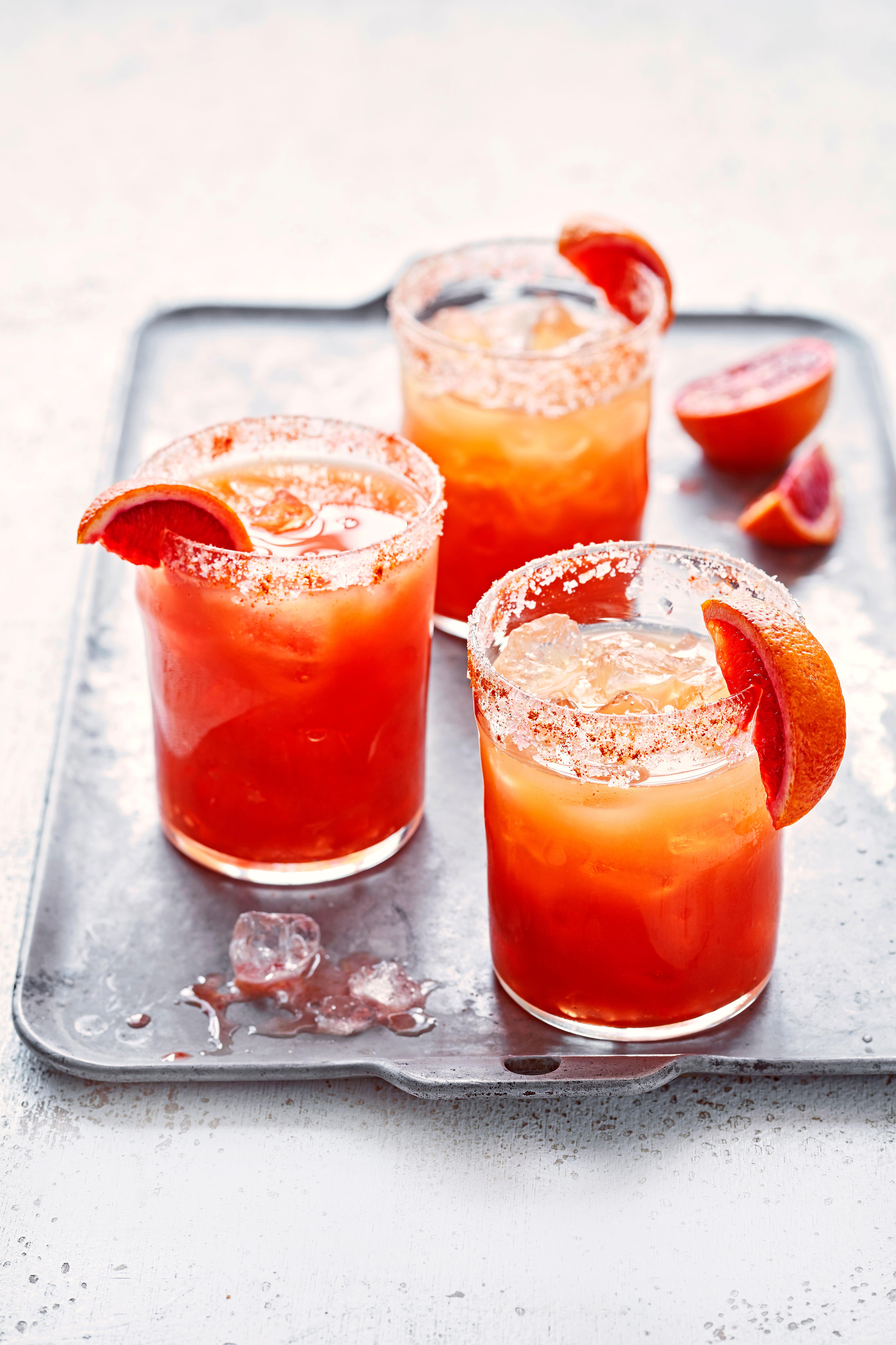 Rețetă Margarita cu portocale de sânge