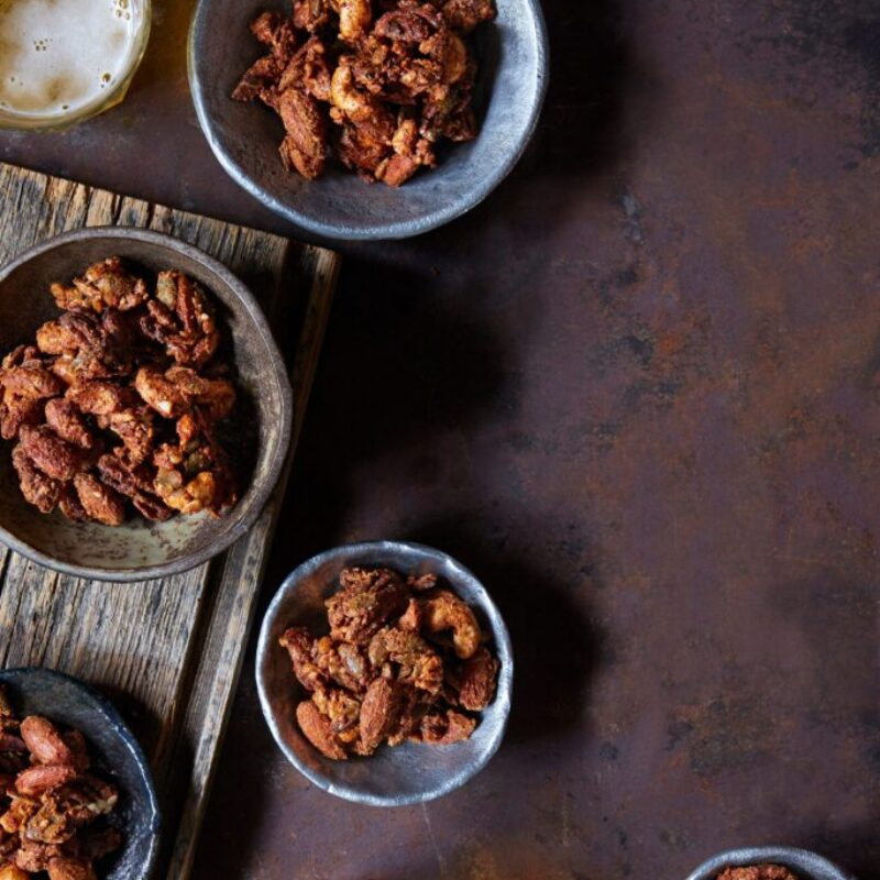 Rețetă ușoară cu nuci de marmit
