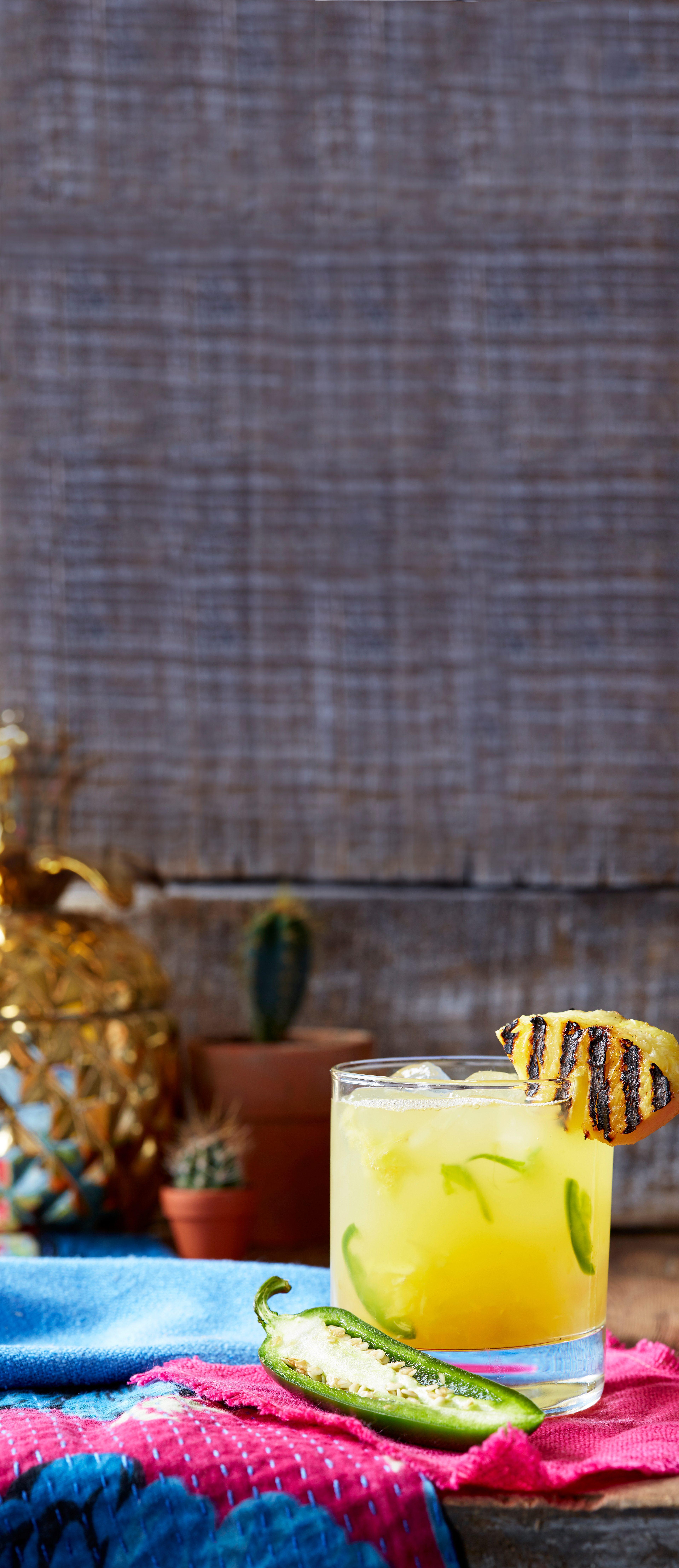 Rețetă de cocktail mezcal cu ananas și Jalapeño