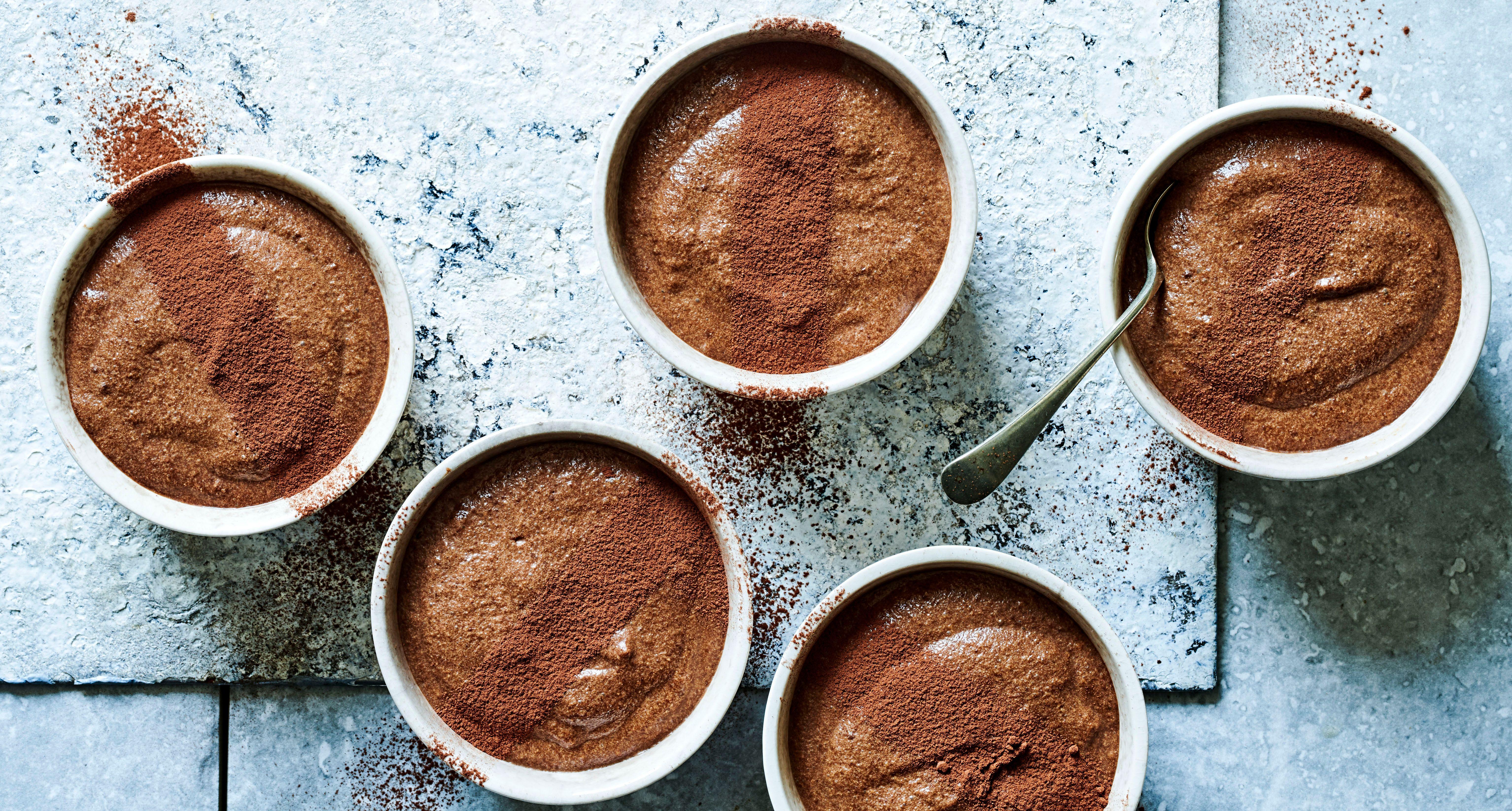 Rețetă de mousse de ciocolată cu Affogato