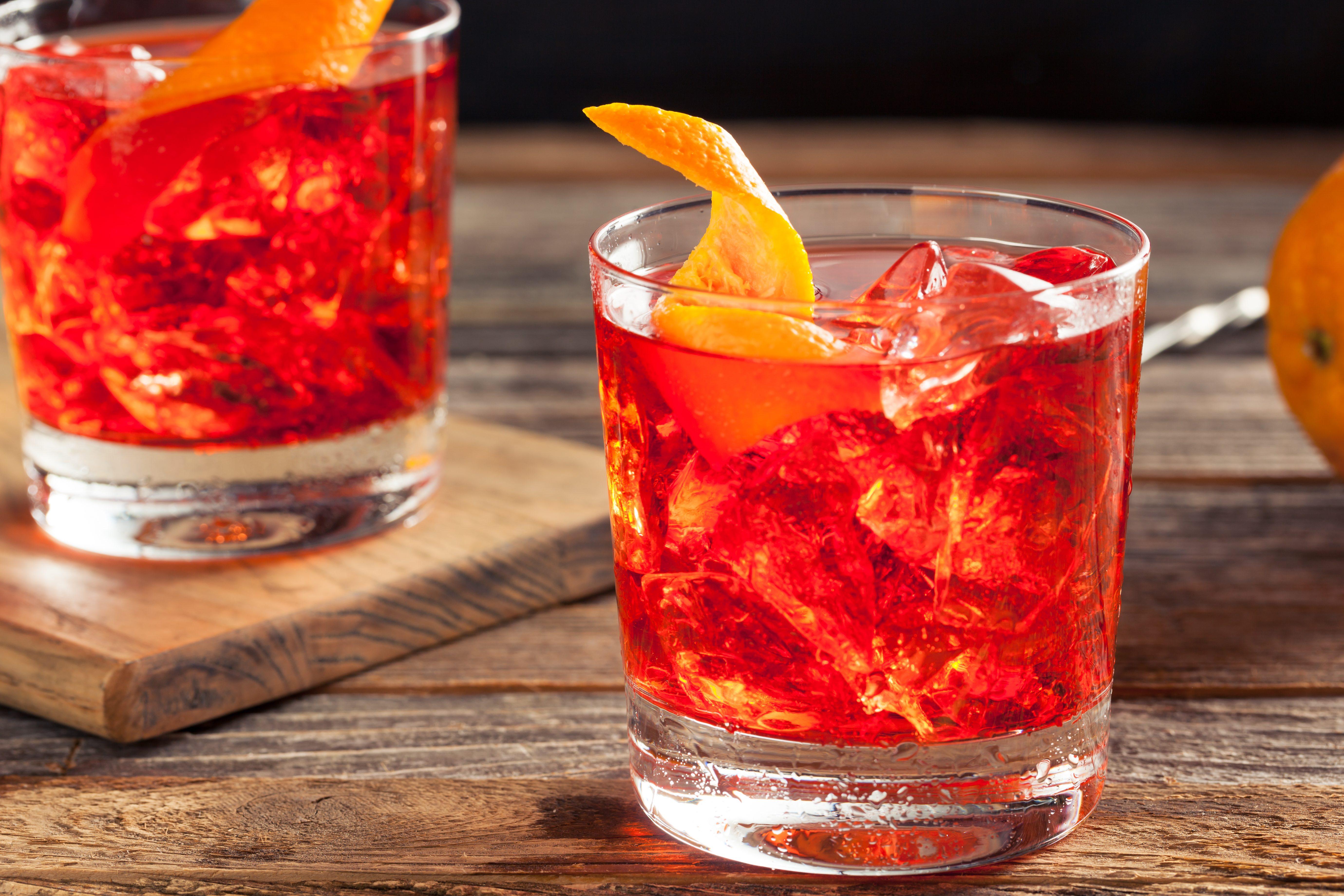 Rețetă de cocktail Negroni Sbagliato