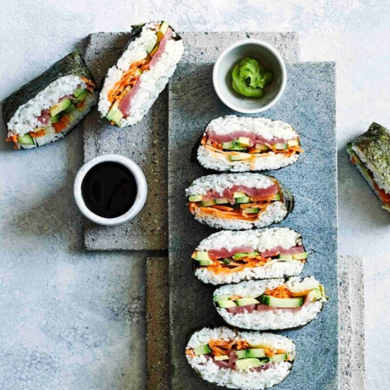 Rețetă Sandwich Sushi Onigirazu