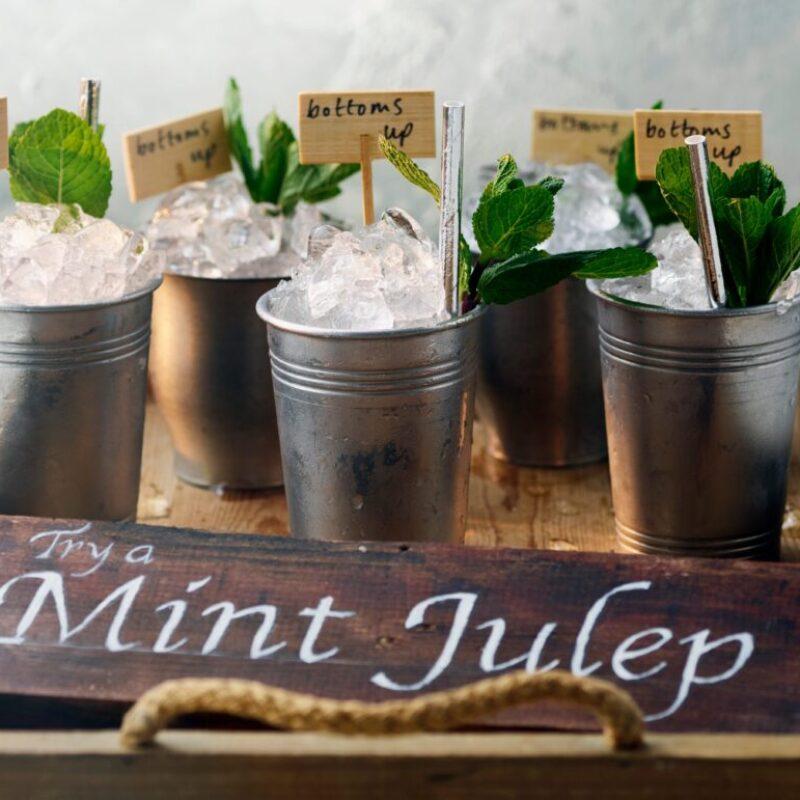 Rețetă de cocktail Julep cu piersici