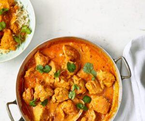 Rețetă de curry de pui cu unt