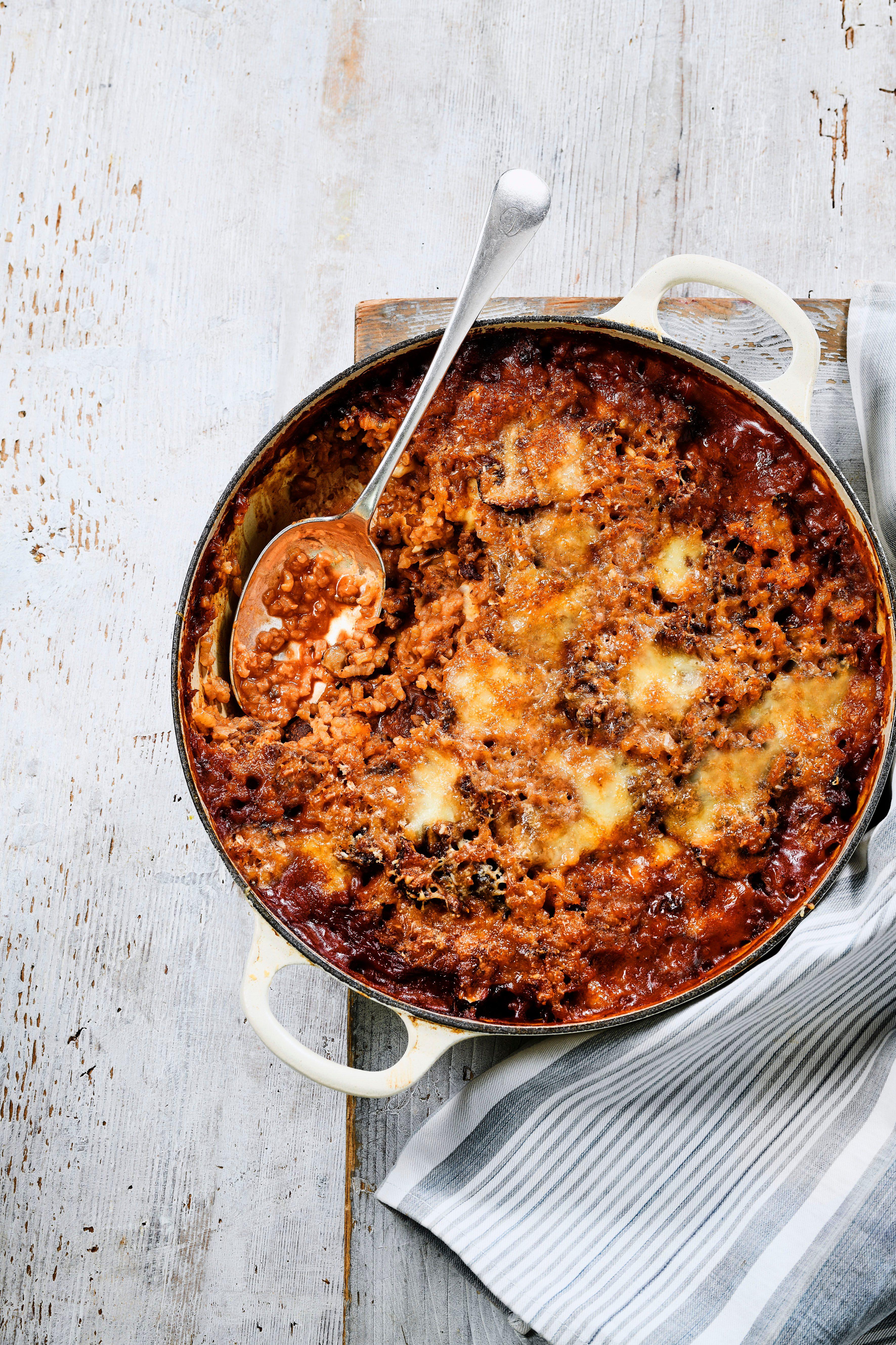 Rețetă de risotto bolognez