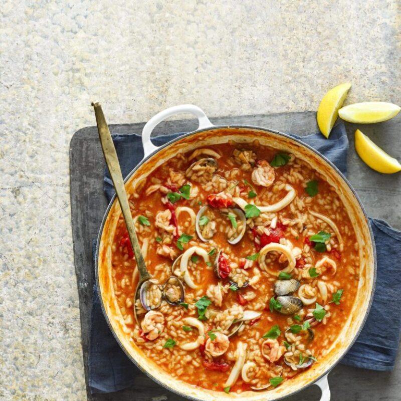 Cea mai bună rețetă de risotto pentru risotto cu fructe de mare
