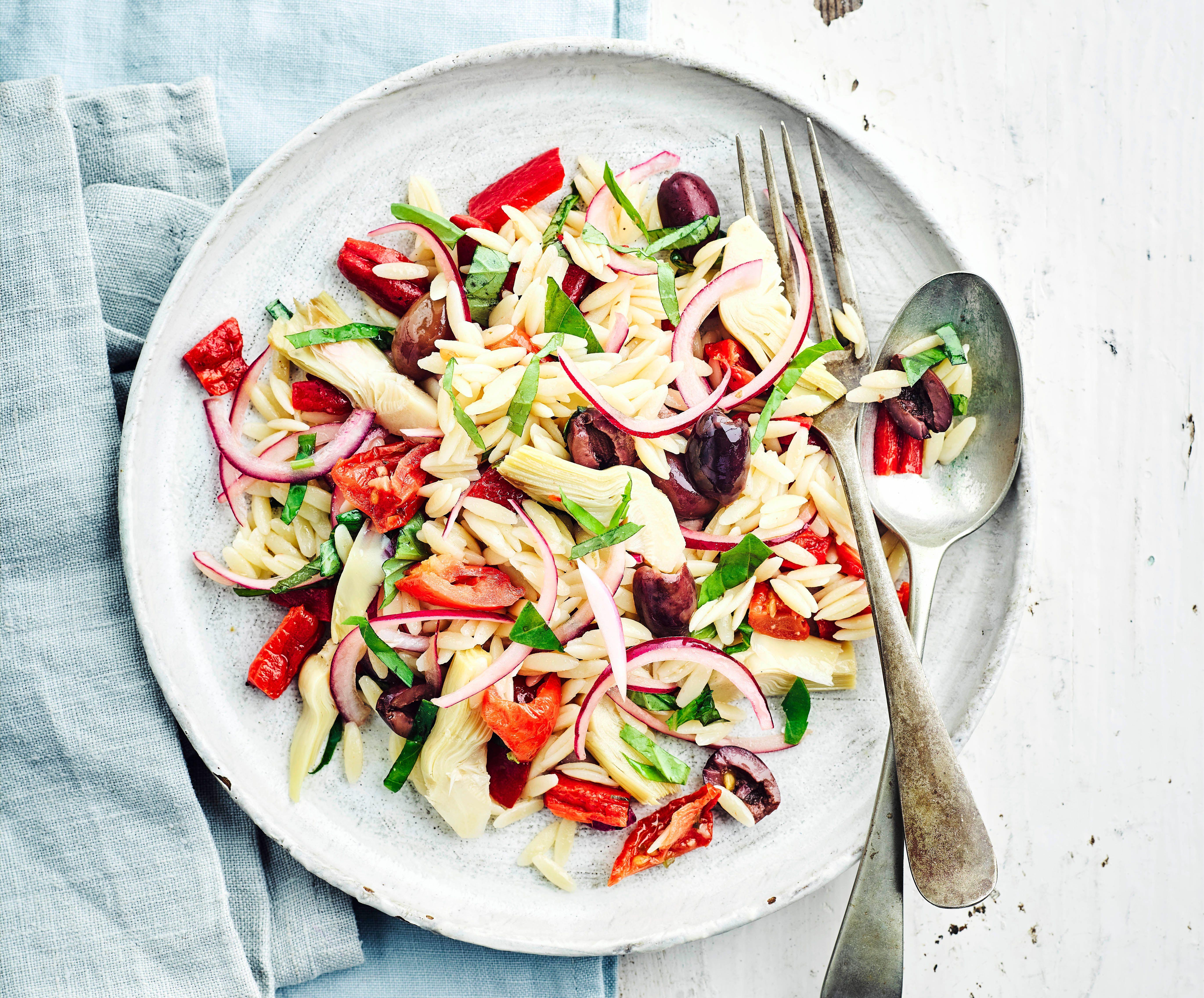 Rețetă de salată de paste Orzo