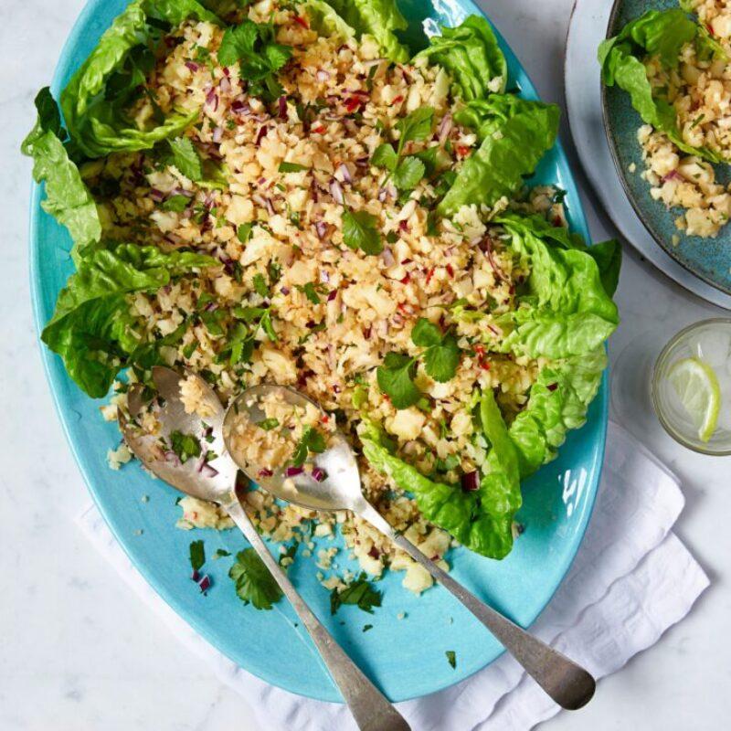 Rețetă de salată de conopidă thailandeză