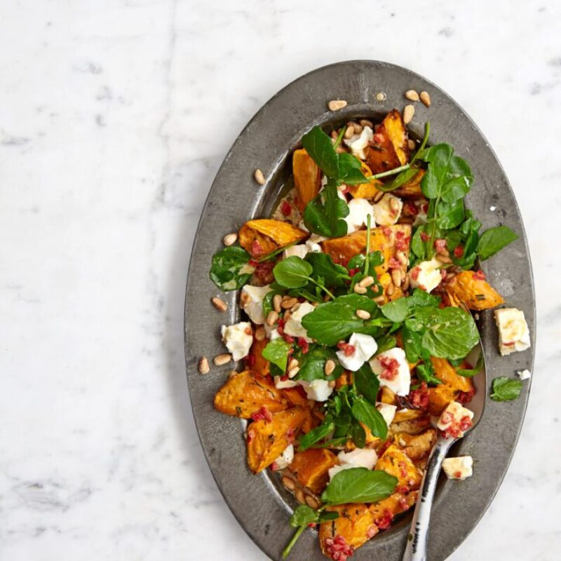 salata feta de cartofi dulci