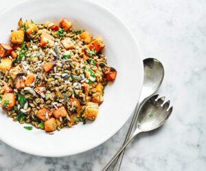 Salată de squash și cereale