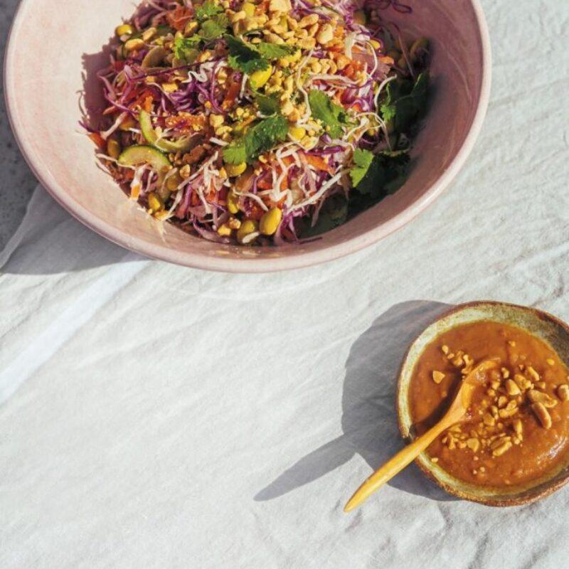Salată de ghimbir thailandez