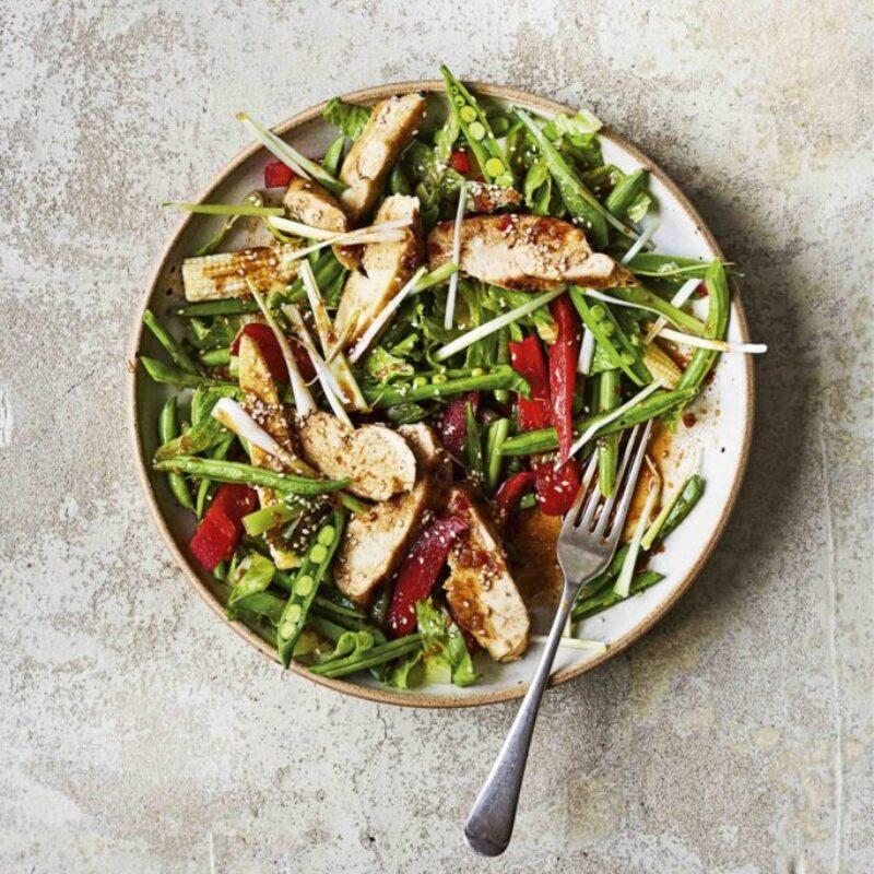 Rețetă de salată de pui Kung Po Donal Skehan