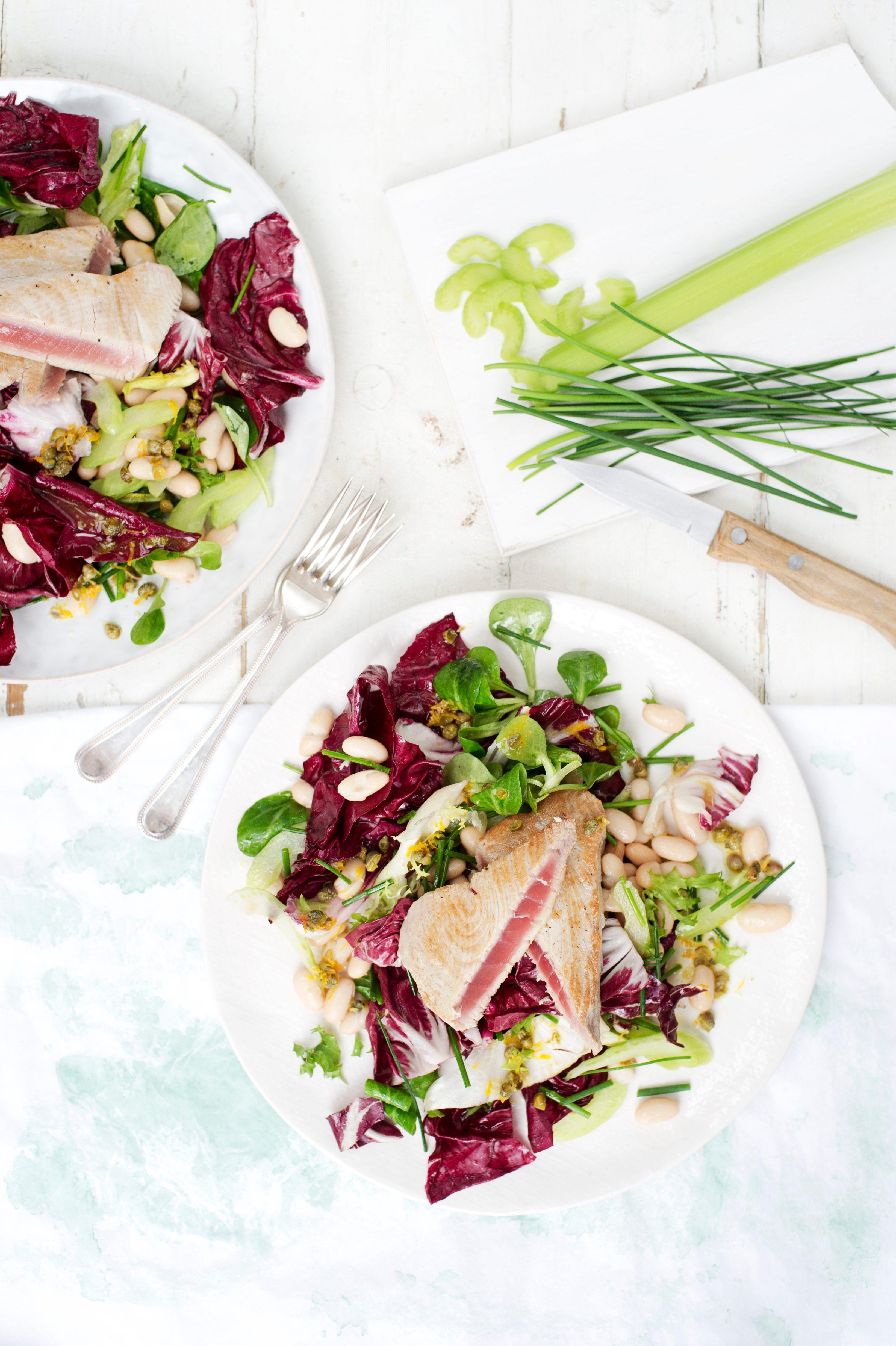 Rețetă de salată de ton cu Radicchio