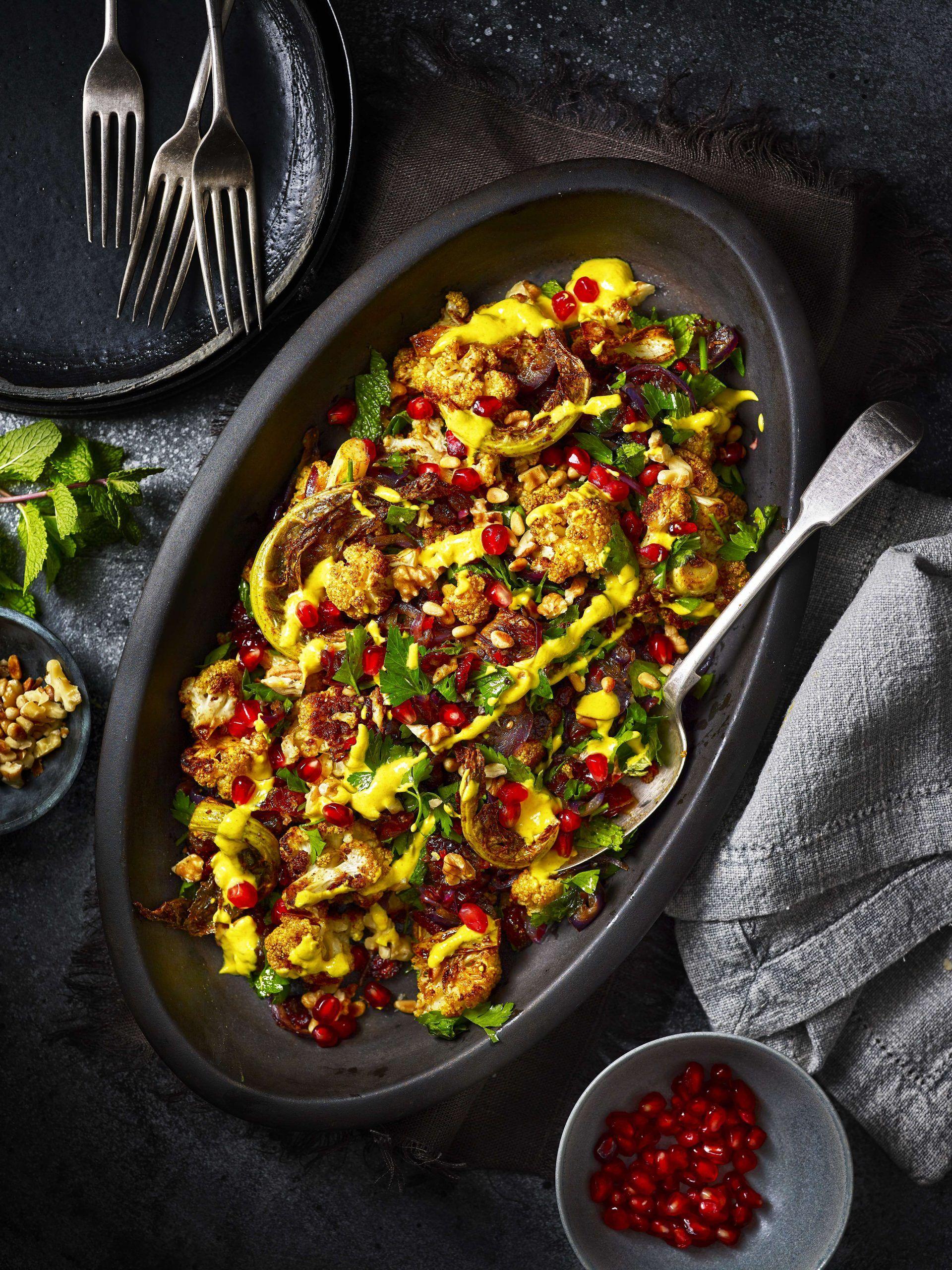 Salată de conopidă marocană
