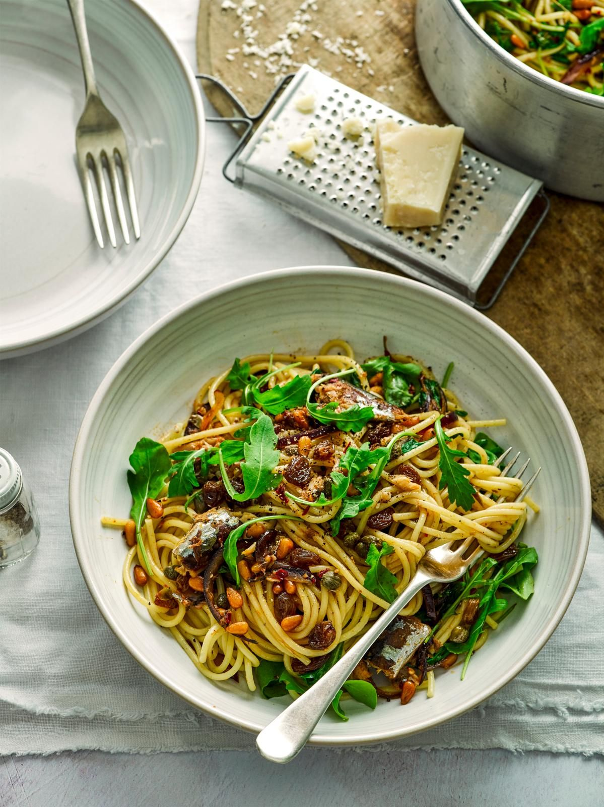 Spaghete de sardină