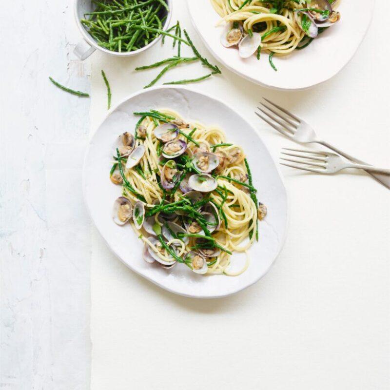 Rețetă Spaghetti Alle Vongole Cu Samphire