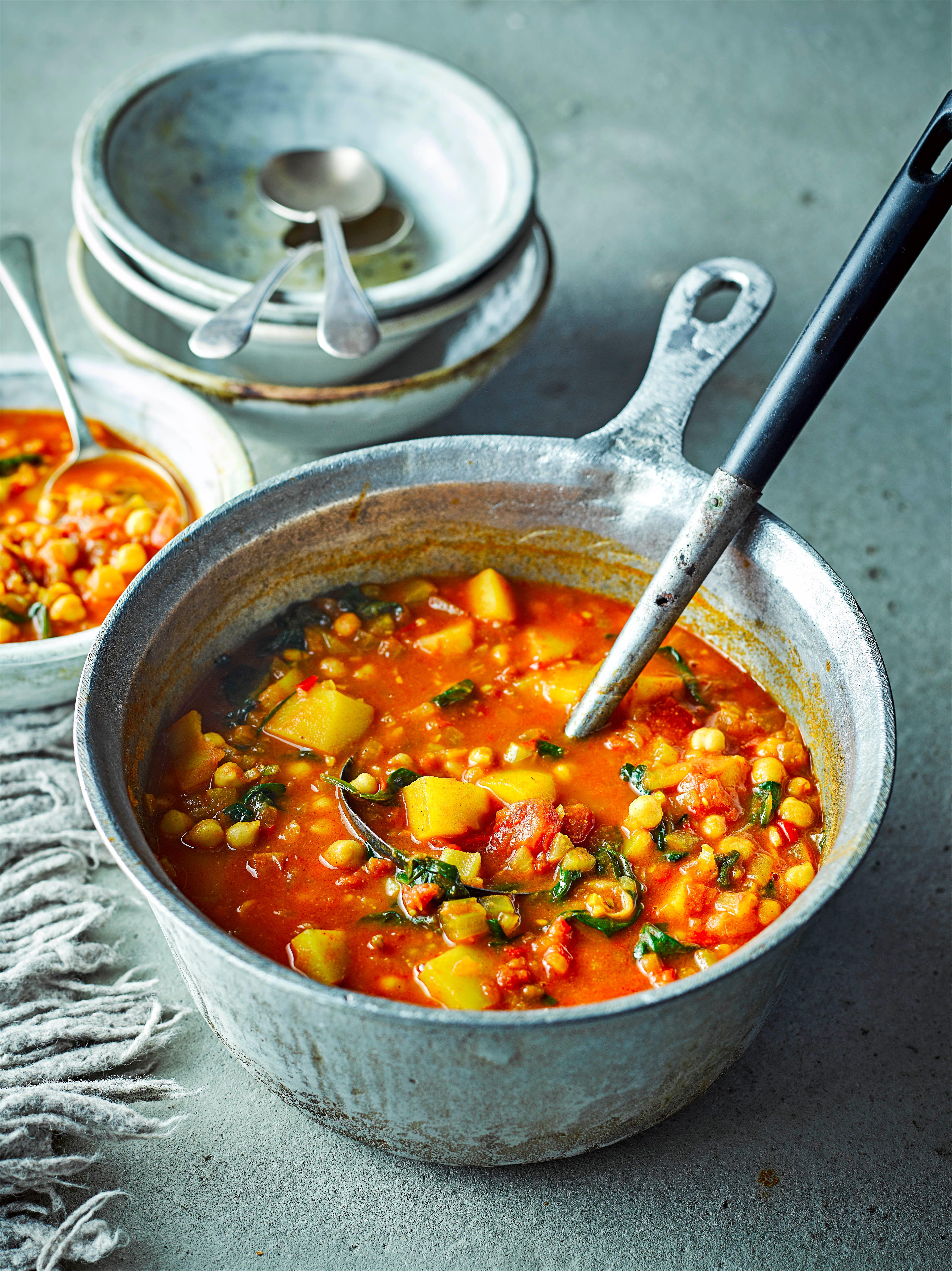Rețetă de supă de legume marocană
