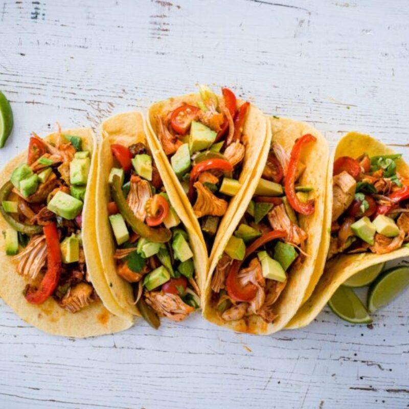 Rețetă Vegan Jackfruit Tacos